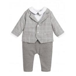 Patachou kombinezon - odijelo sivo