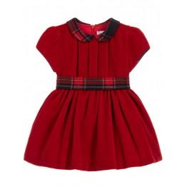 Patachou crvena haljina - Tartan
