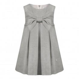Patachou siva haljina s mašnom