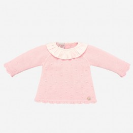 Paz Rodriguez rozi pleteni džemper