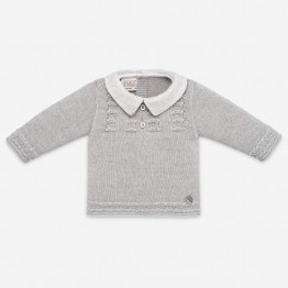 Paz Rodriguez sivi pleteni džemper