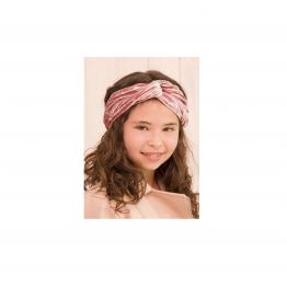 Siena traka za kosu roza