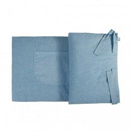Snug ogradica za dječji krevetić plava