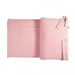 Snug ogradica za dječji krevetić roza
