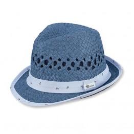 Sterntaler Slamnati šeširić plavi