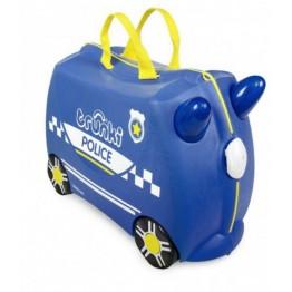 Trunki kofer policajac Percy plavi
