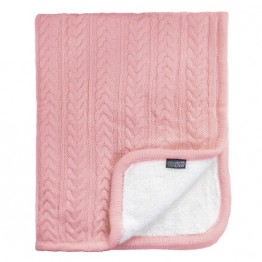 Vinter&Bloom deka Cuddly Dusty Rose