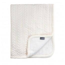 Vinter&Bloom deka Cuddly Ivory