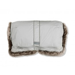 Vinter&Bloom zimske rukavice za kolica Silvergrey