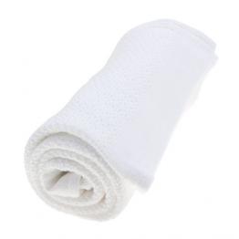 Vinter&Bloom Bijela deka Soft Grid Eko
