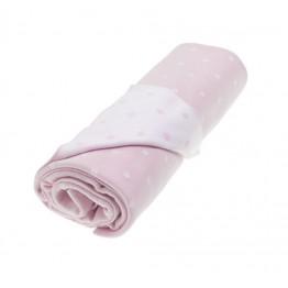 Vinter&Bloom deka Dots Pink Rose