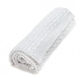 Vinter&Bloom deka Grace bijela