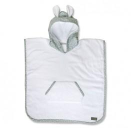 Vinter&Bloom poncho ručnik Mild Green