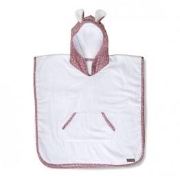 Vinter&Bloom poncho ručnik Soft Pink