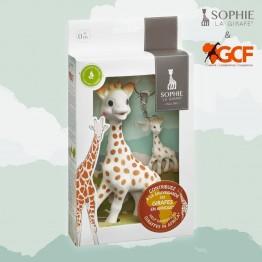 Limitirani set Spasi žiraficu - Sophie classic i privjesak