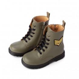 Čizme s vezicama maslinaste Zecchino d'Oro