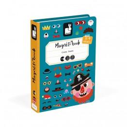 Janod Kutija s magnetima grimase-dječak
