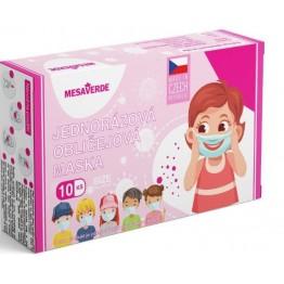Dječje maske za lice - roze (10 kom)