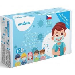 Dječje maske za lice - plave (10 kom)